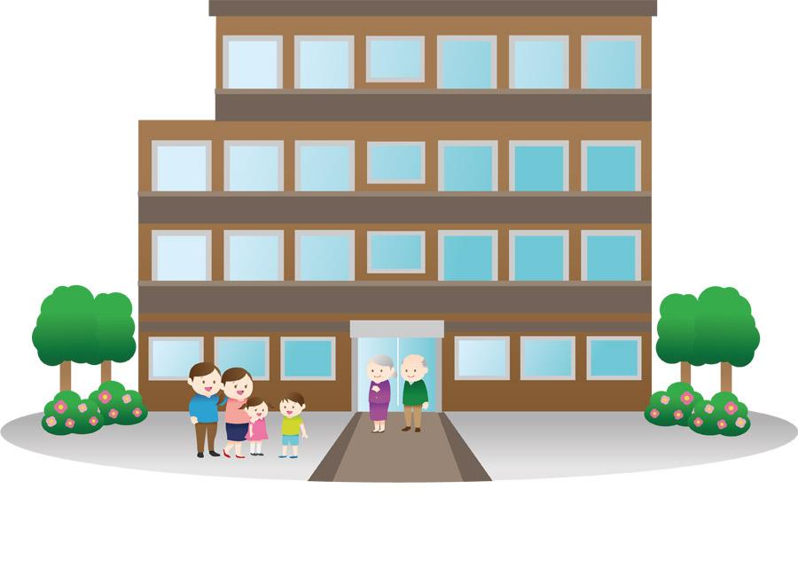 マンションと三世代家族