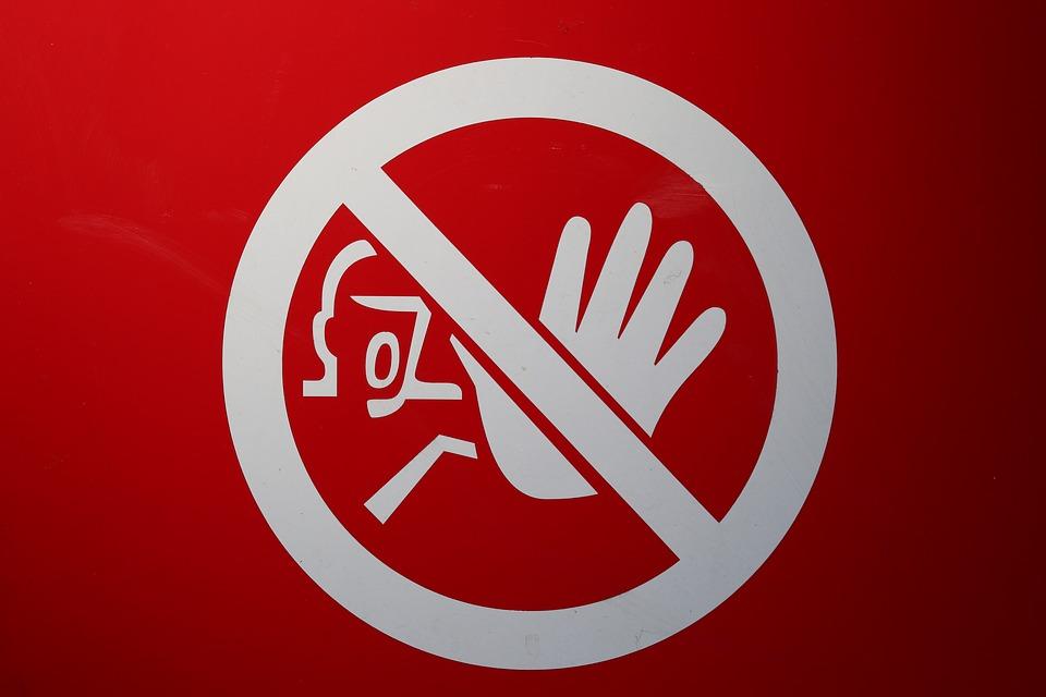 シールド 禁止 停止 を含む 警告 注意してください 道路標識 通路 Warnschild