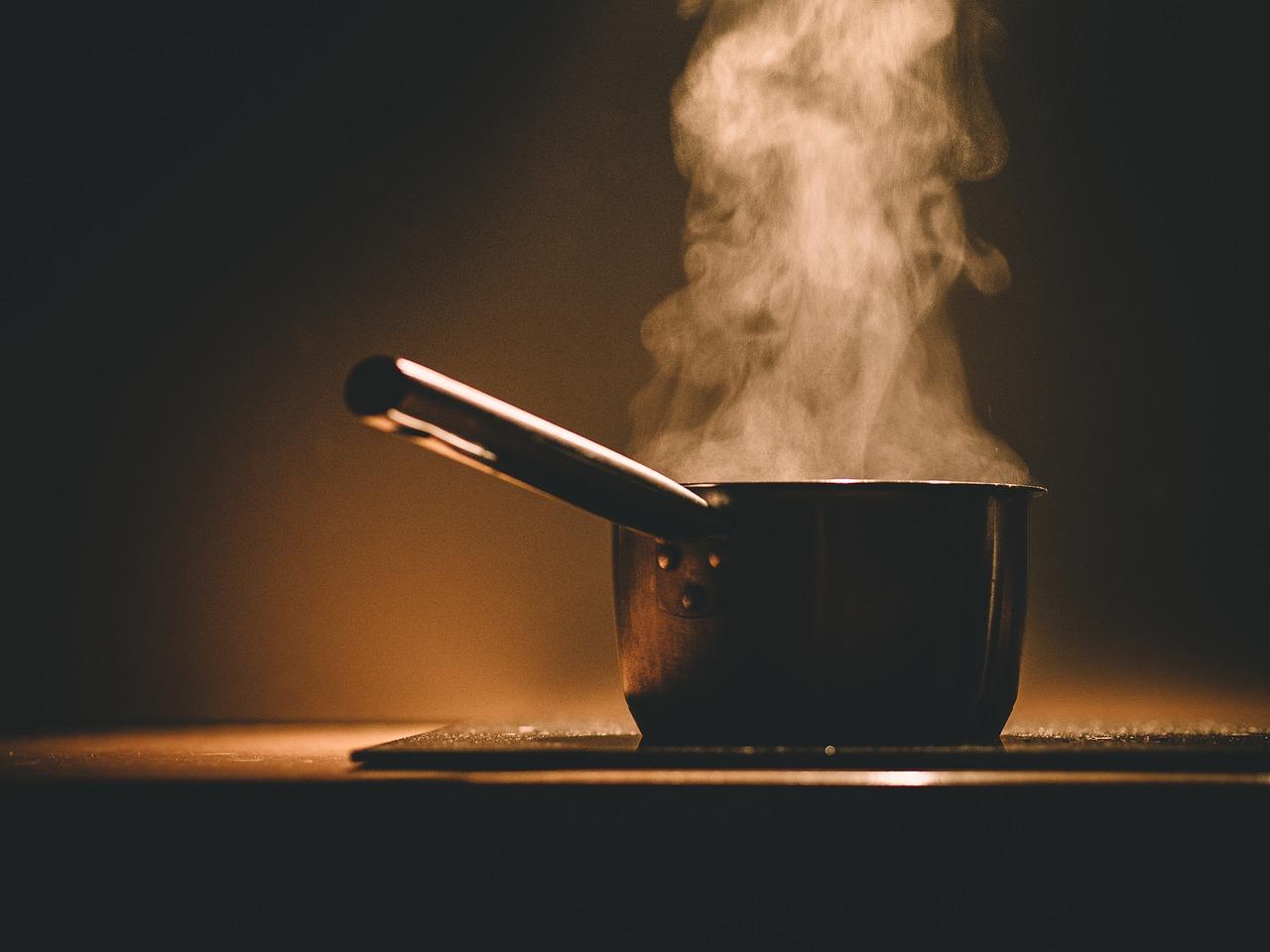 ポット 蒸し ホット 料理 キッチン ストーブ 調理器具