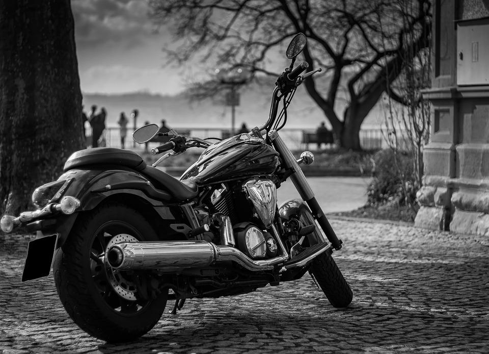 ヤマハ オートバイ 車両 モーター 技術 Ps 二輪車 黒 バイク 金属 クロム ホビー