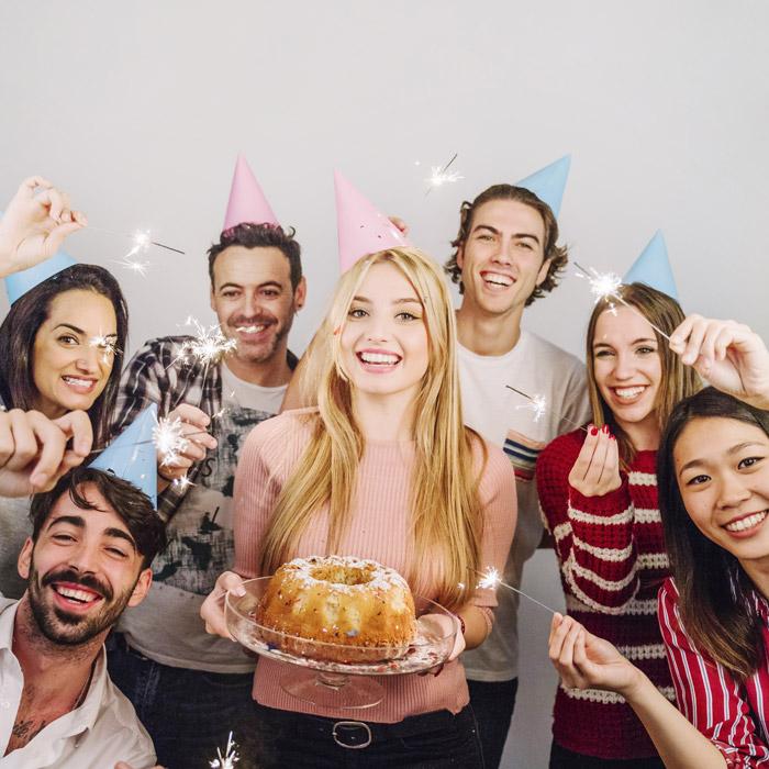 シェアハウス 誕生日パーティー