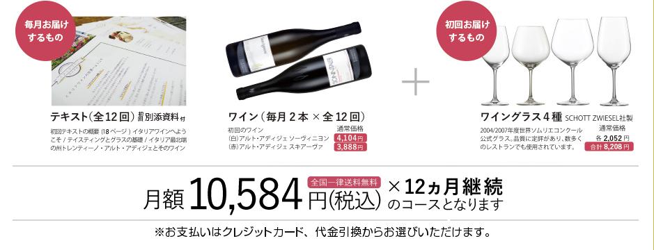 イタリアワイン 通信講座 料金