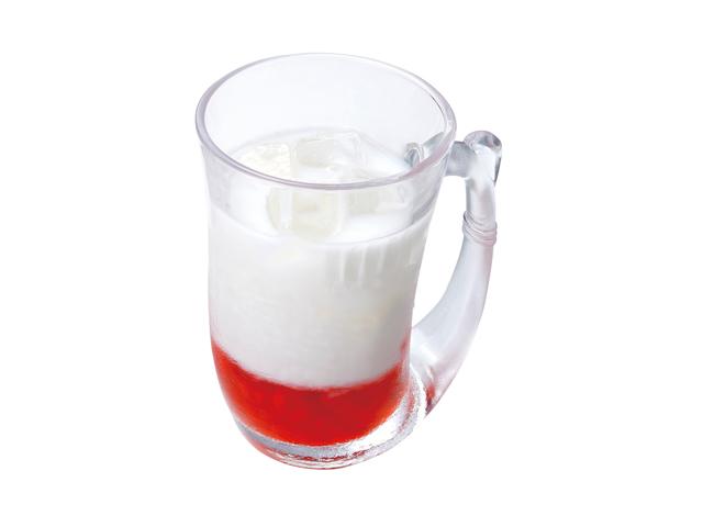 つぶつぶ食感イチゴミルク