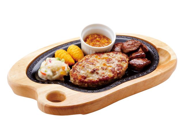 ハンバーグ&コロコロステーキ